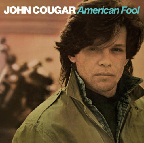I had a slight crush on John Cugar Melloncamp when I was a kid. I don't know why, strange since I normally don't like guys with very long hair. A few hits I like Jack and Diane