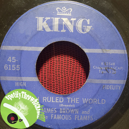 If I Ruled The World by James Brown