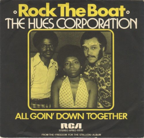 Rock The Boat by Hues Corporation, Positive influence, SpotifyThrowbacks.com