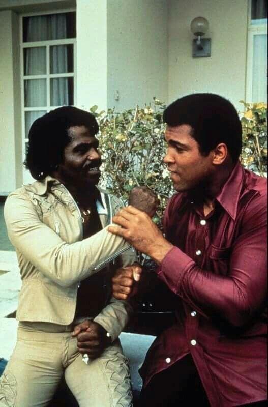 James Brown & Ali - SpotifyThrowbacks.com