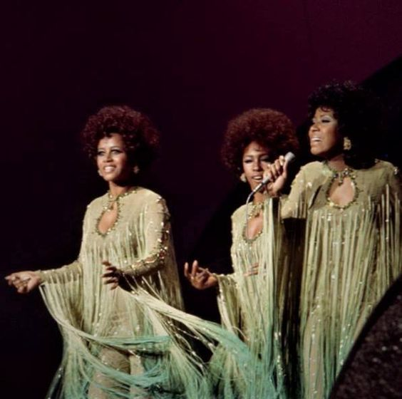 The Supremes: Cindy Birdsong, Mary Wilson and Jean Terrell. SpotifyThrowbacks.com