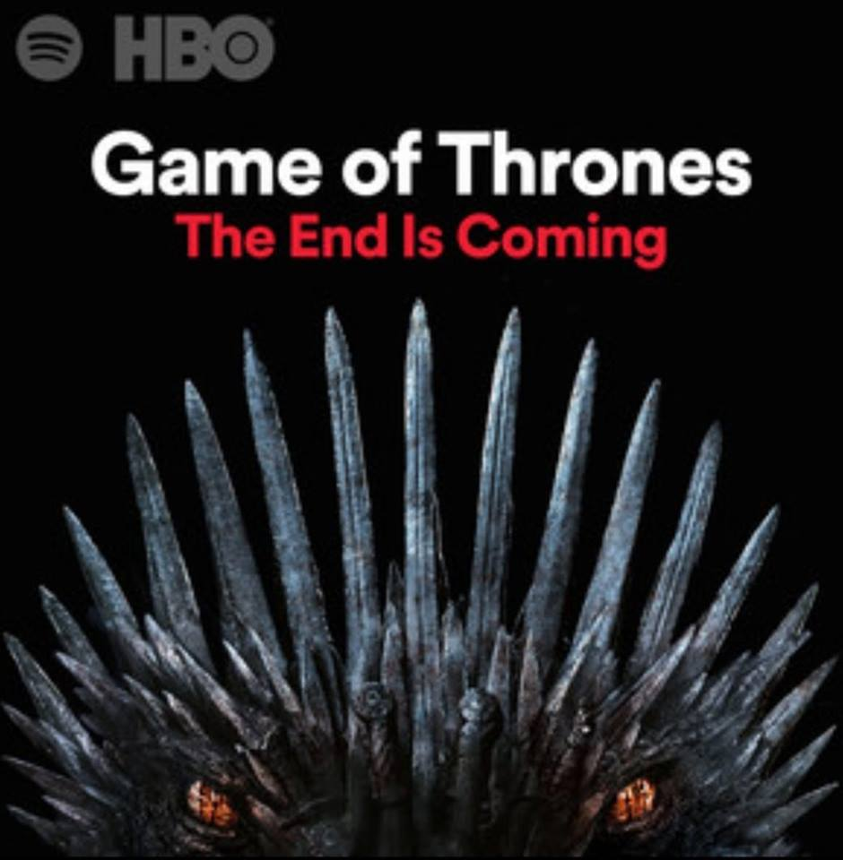 Game Of Thrones (GOT) SpotifyThrowbacks.com