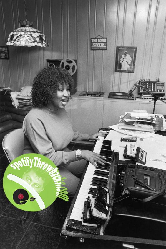 Aretha Franklin - SpotifyThrowbacks.com