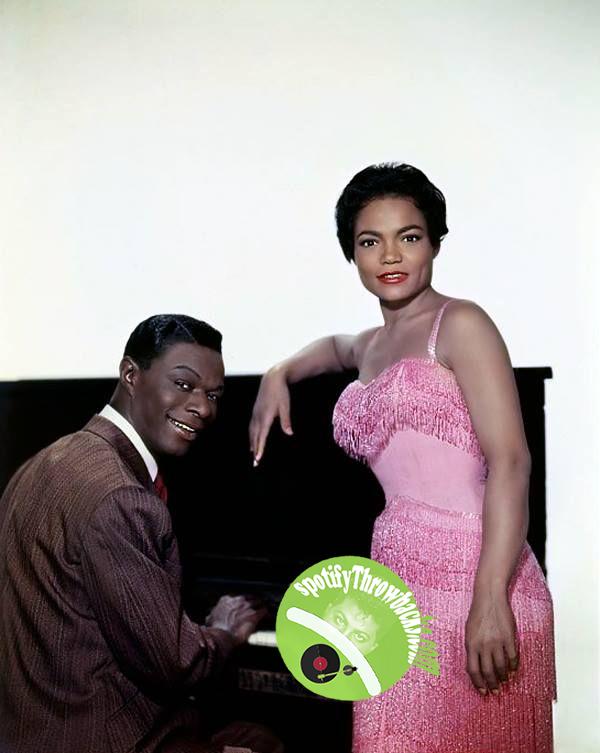 Nat King Cole & Eartha Kitt - SpotifyThrowbacks.com