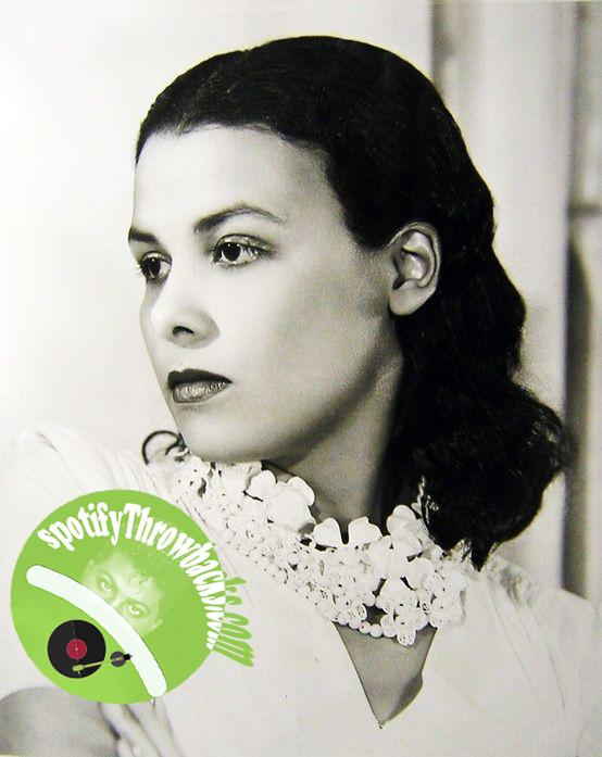 The late Lena Horne - SpotifyThrowbacks.com
