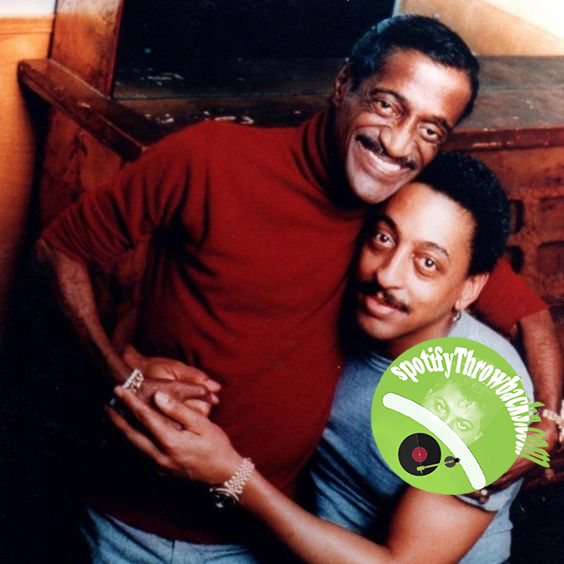 The late Sammy Davis, Jr. & the late Gregory Hines - SpotifyThrowbacks.com