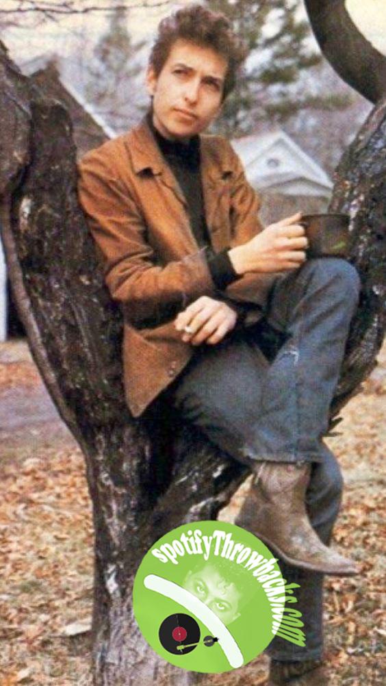 The legendary Bob Dylan - SpotifyThrowbacks.com