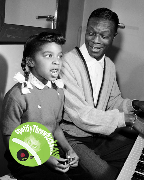 Natalie Cole & father Nat King Cole - SpotifyThrowbacks.com