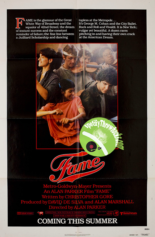 Fame (1980) - SpotifyThrowbacks.com