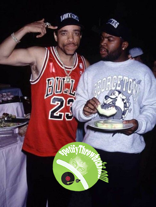 Ice-T and Ice Cube - SpotifyThrowbacks.com