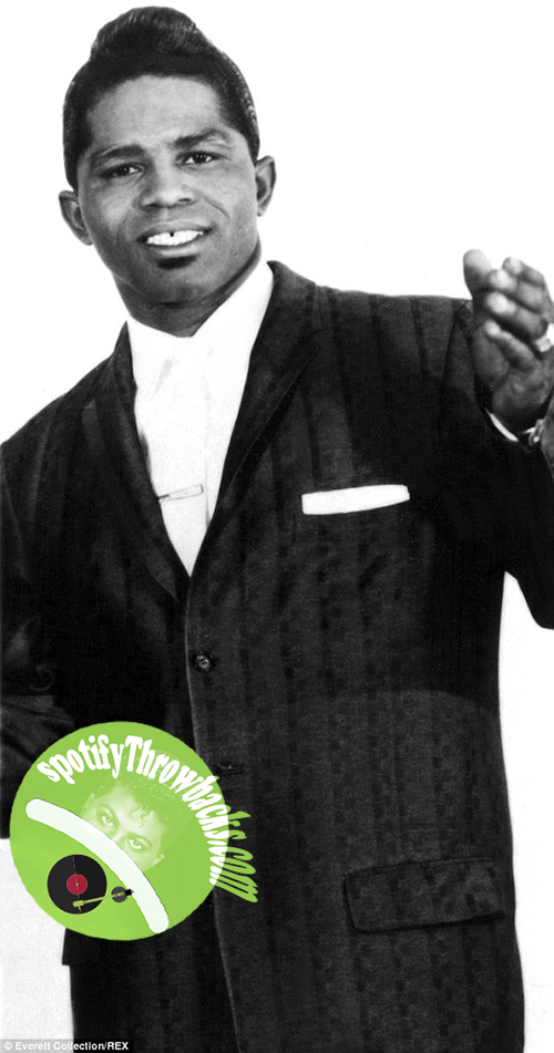 The late James Brown - SpotifyThrowbacks.com
