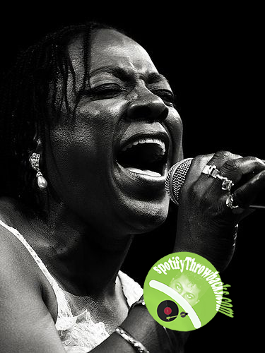 The late Sharon Jones - SpotifyThrowbacks.com