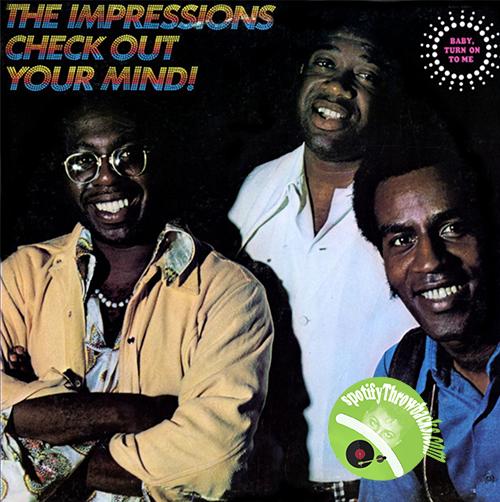 The Impressions - SpotifyThrowback.com
