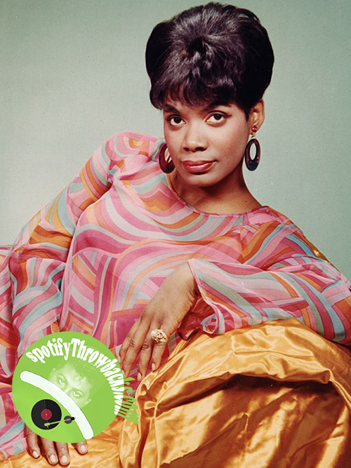 The legendary Carla Thomas - SpotifyThrowbacks.com