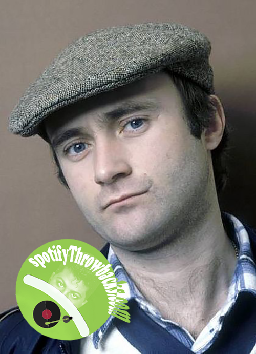 Phil Collins - SpotifyThrowbacks.com