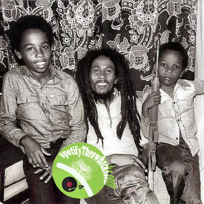 Bob Marley & Children - SpotifyThrowbacks.com
