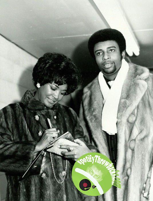 Nancy Wilson and Dennis Edwards - SpotifyThrowbacks.com