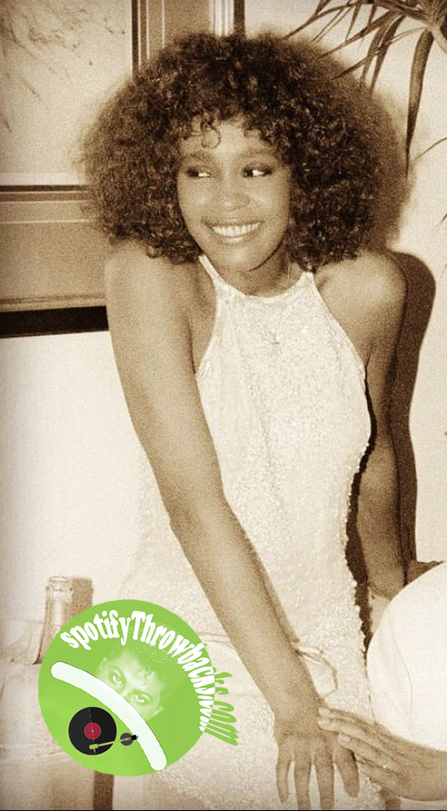 The late Whitney Houston - SpotifyThrowbacks.com