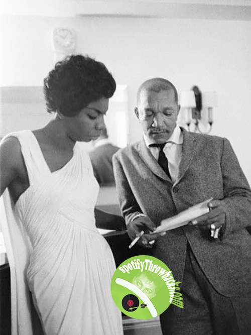 The late Nina Simone & the late Redd Foxx - SpotifyThrowbacks.com