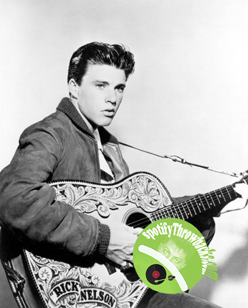 Ricky Nelson - SpotifyThrowbacks.com