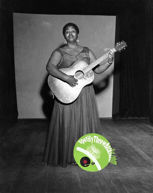Legendary Black folk singer, Odetta - SpotifyThrowbacks.com