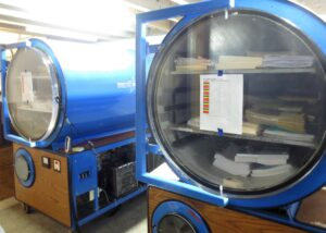 freeze drying documents
