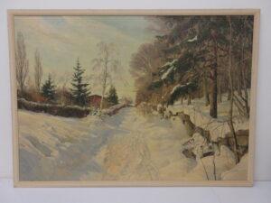 damaged paintings