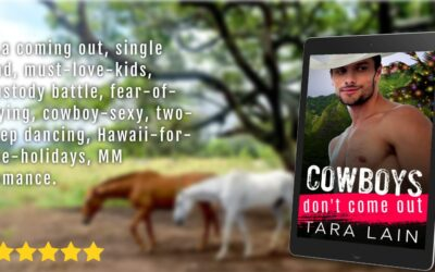 Cowboy's Don't Come Out Cover Reveal!