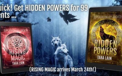 Meet the Superordinary Society! HIDDEN POWERS is 99 Cents for a Limited time!