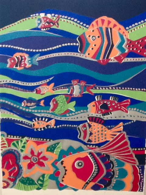 Sea Goddess Panel B SC-12 Framed $395 & Unframed $295