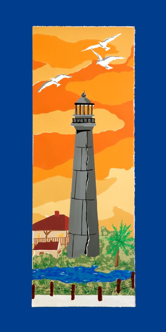 Lighthouse LEP-28 Framed $295 & Unframed $195