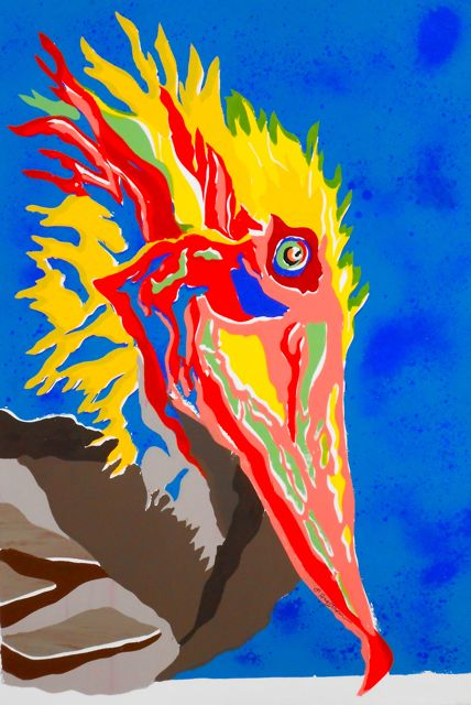 Pelican Van Gogh SC-5 Framed $345 & Unframed $275