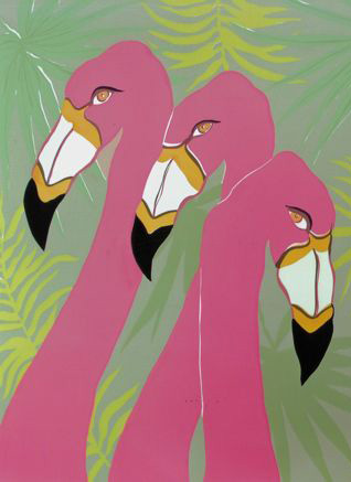 Here's Looking at You Panel A SC-6 Framed $395 & Unframed $295