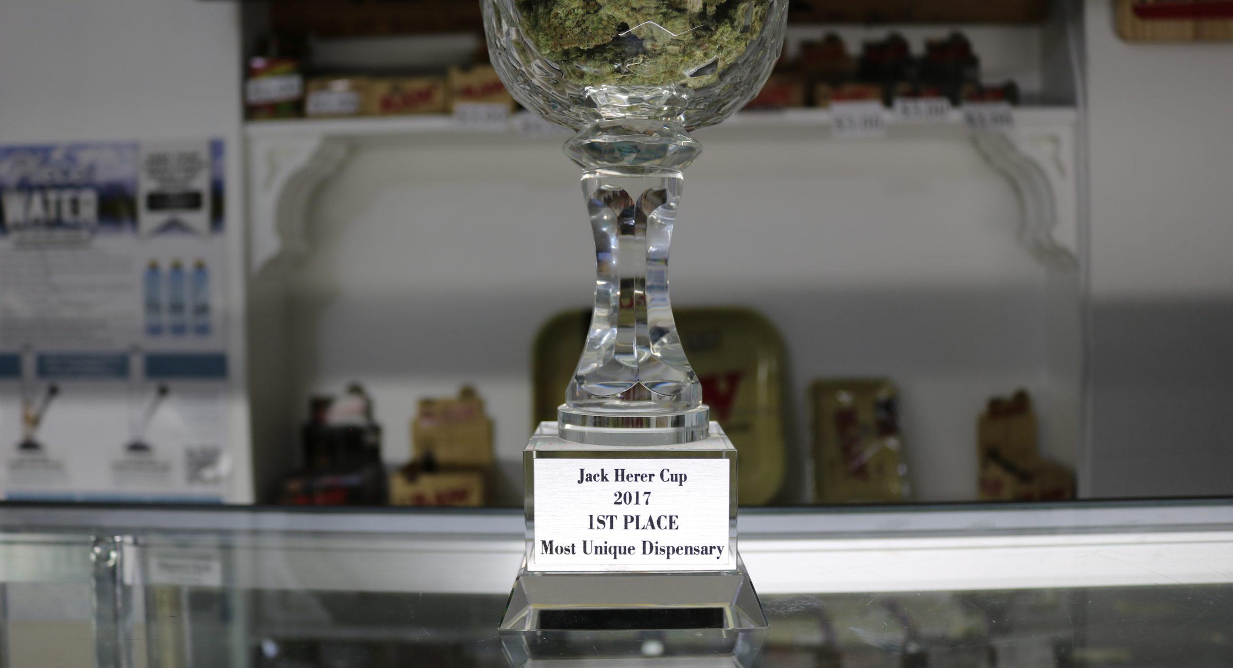 jack herer cup trophy winners