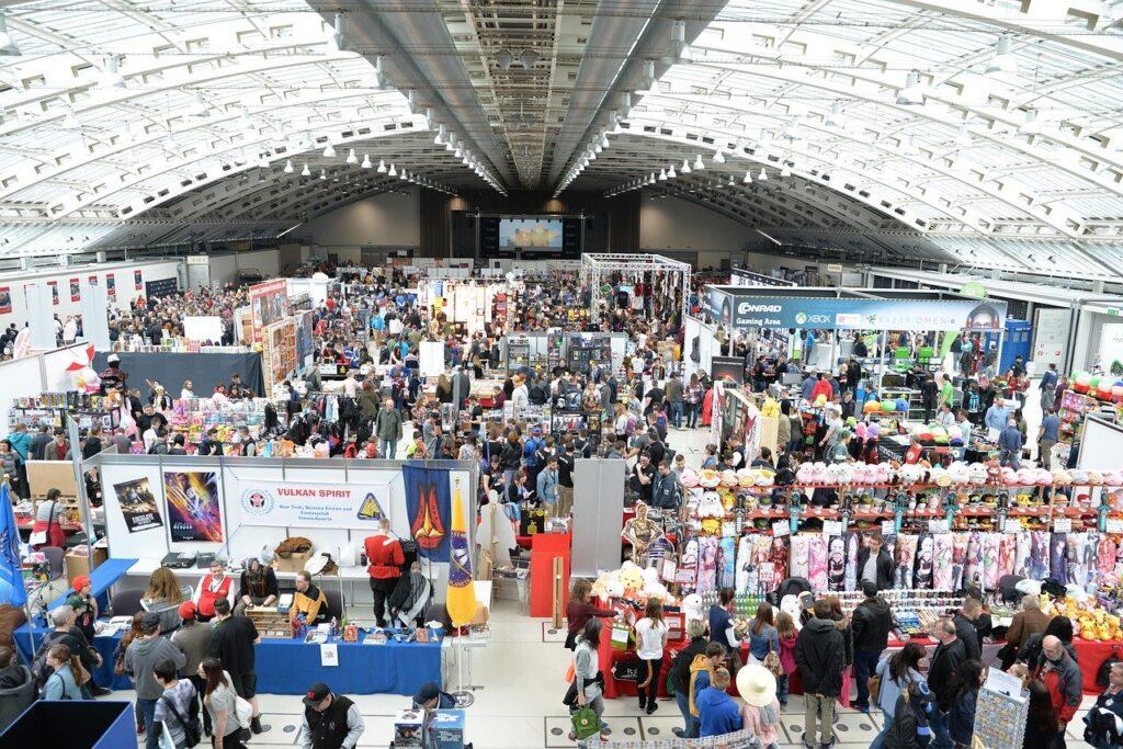 comic con, convention, centre