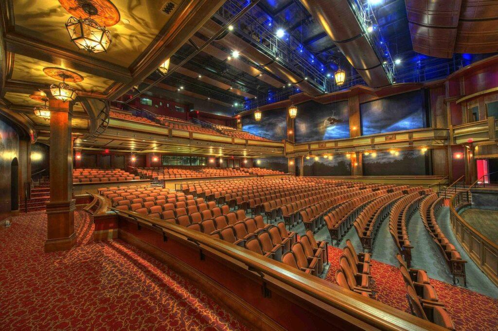 florida state university, theater, auditorium