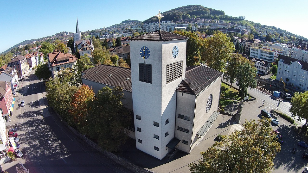 cross, church, st
