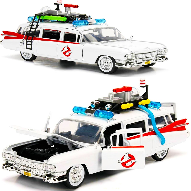 1:24 1984 Ghostbusters Alloy Diecast Classic Car