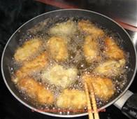 frying foods