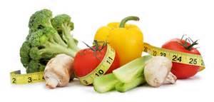 measuring veggies