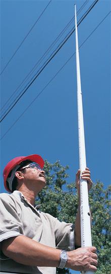 height stick