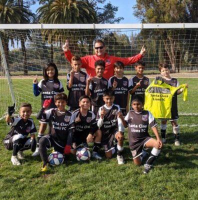Santa Clara Lions 2009 Red Team win 2019 NorCal Premier League Division 2 Championship