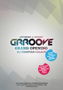 GRROOVE Grand Opening