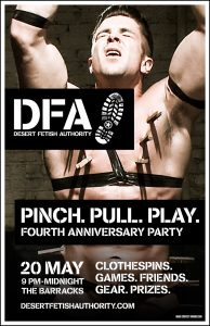 DFA Fourth Anniversary Party Poster