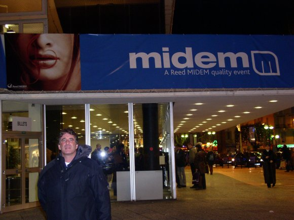 Jeffrey E. Jacobson at Midem in Cannes in France