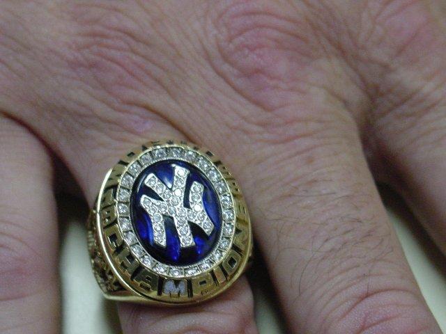 Yankees World Series Ring