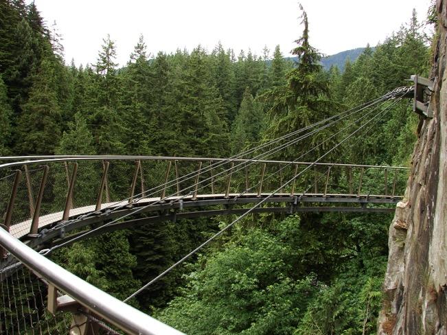 Capilano Bridge Park Cliff Walk