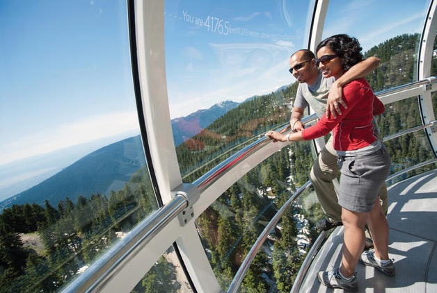Tram Ride to Grouse Mountain