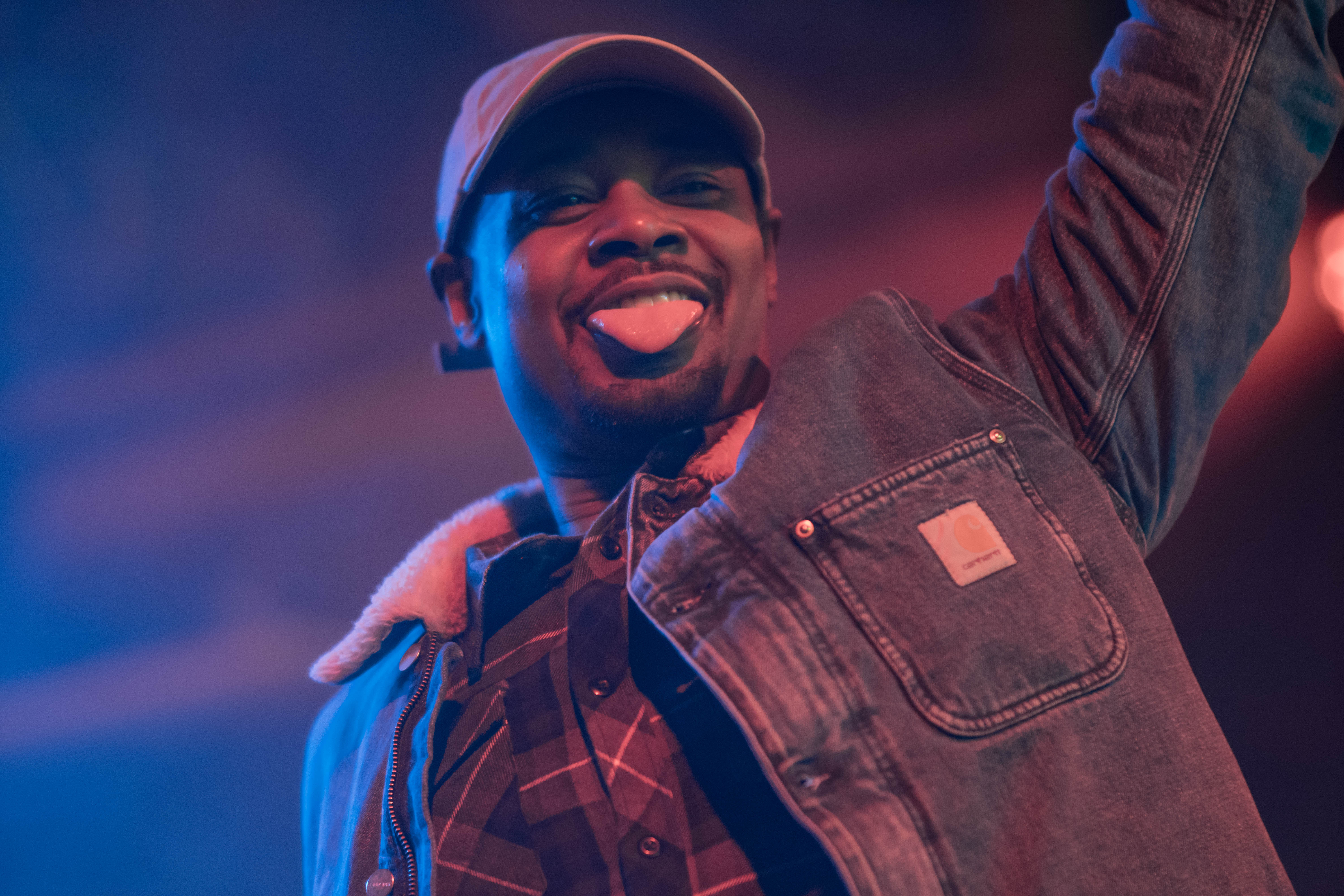 Danny Brown March 12, 2018. Photo by Kevin Baker. Chicago, Il