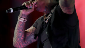 Moneybagg Yo. Hollywood Casino. Photo by Ted Vernon. Chicago, Il 2019